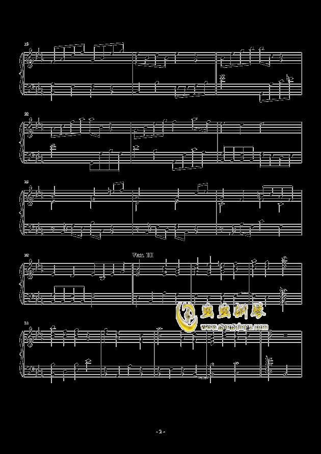Salute to Elgar钢琴谱 第2页