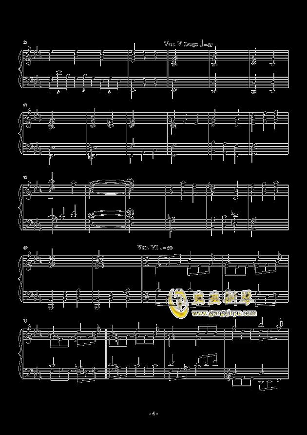 Salute to Elgar钢琴谱 第4页