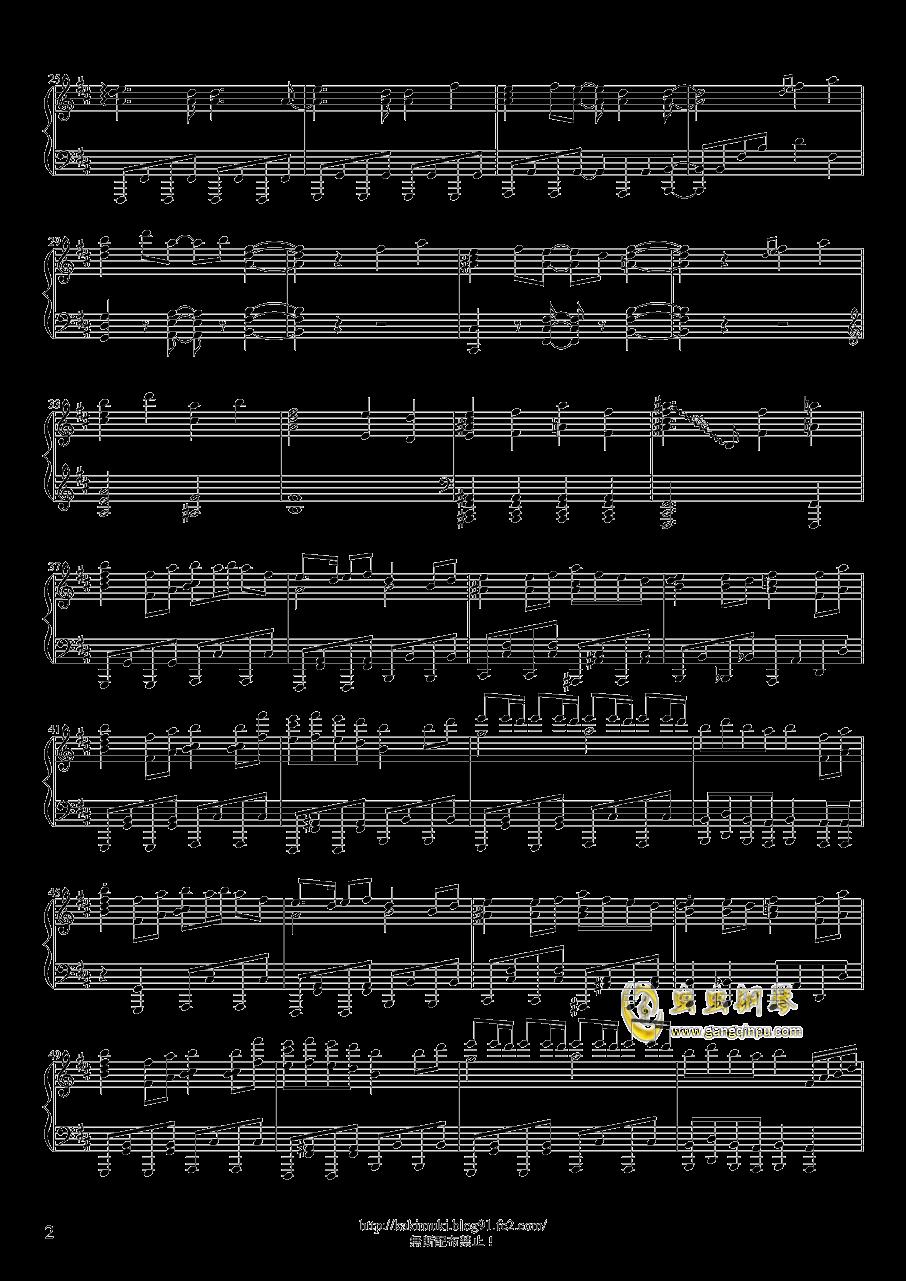 六兆年と一夜物语钢琴谱 第2页