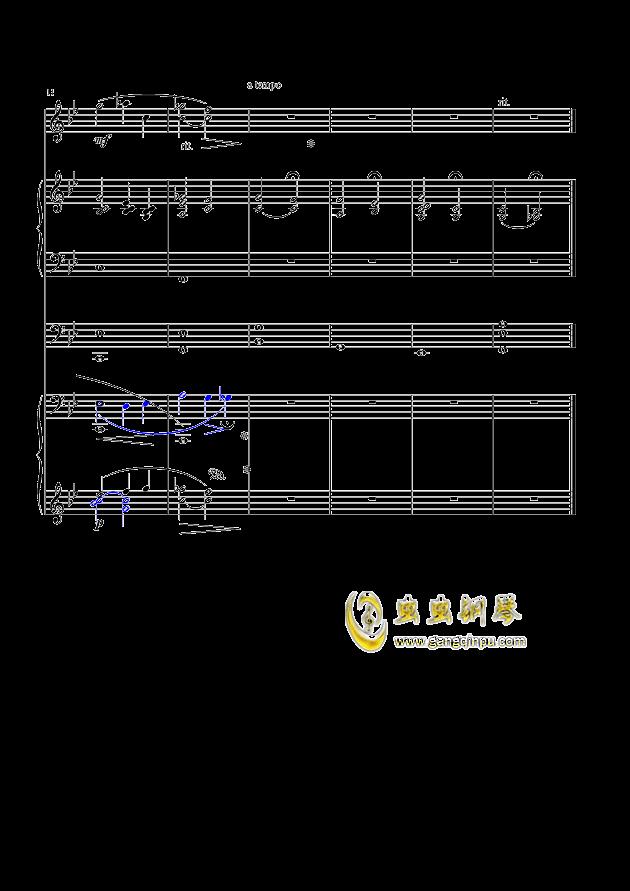 幽之伤钢琴谱 第3页