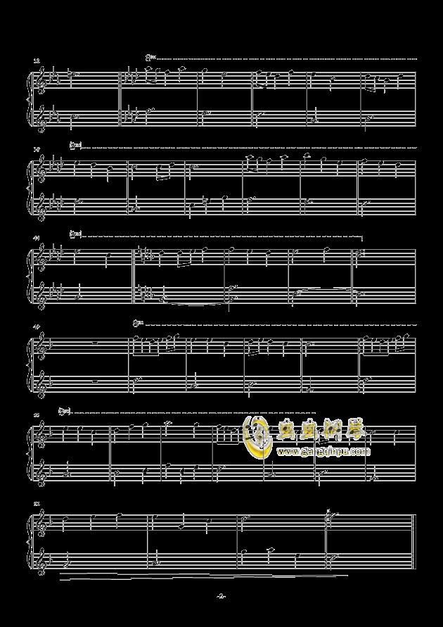 Melody钢琴谱 第2页