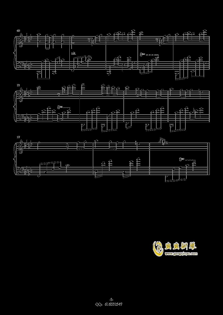 Childhood memory钢琴谱 第3页