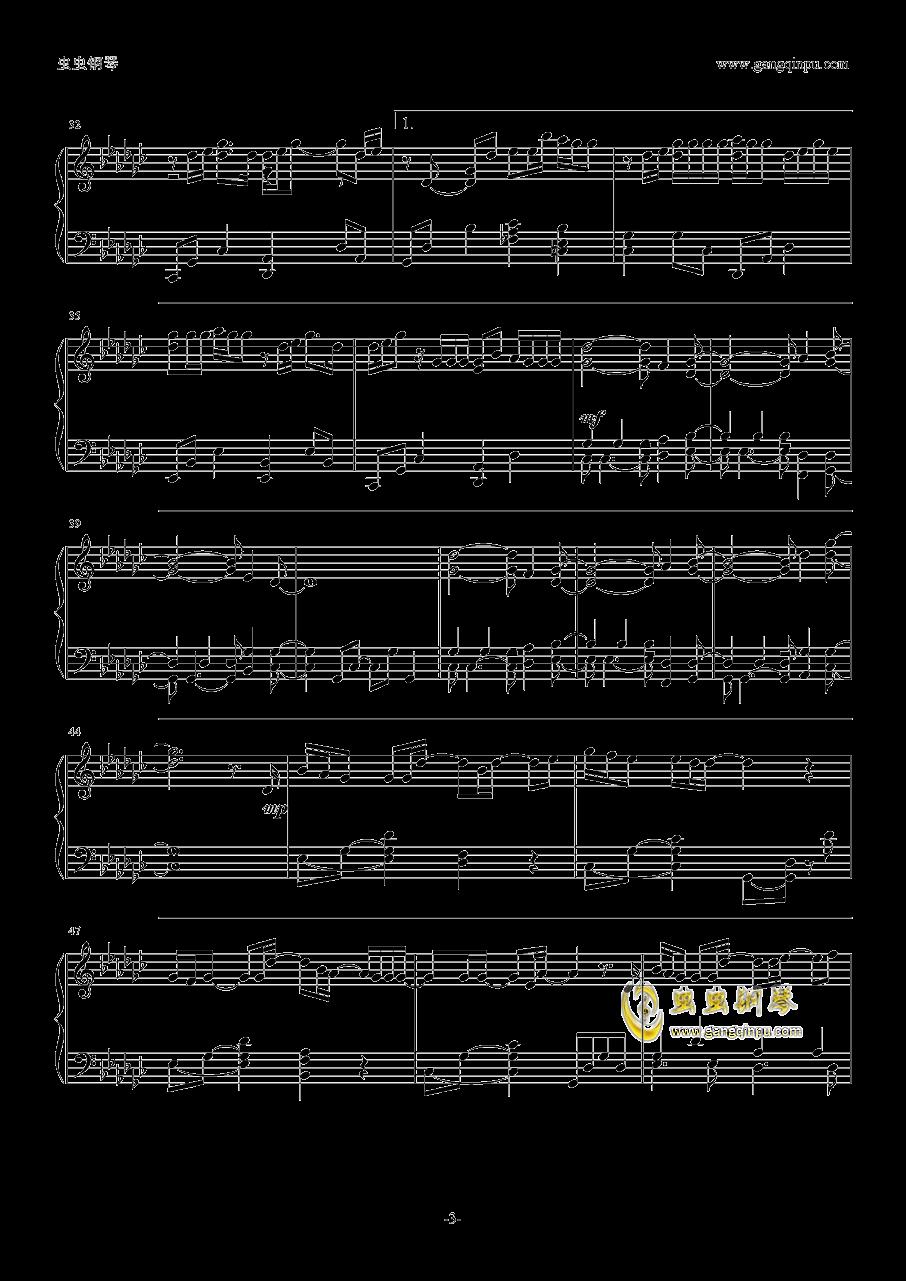 你的名字片尾曲钢琴谱 第3页