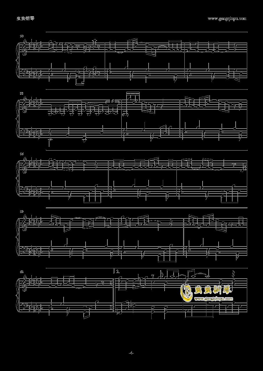 你的名字片尾曲钢琴谱 第4页