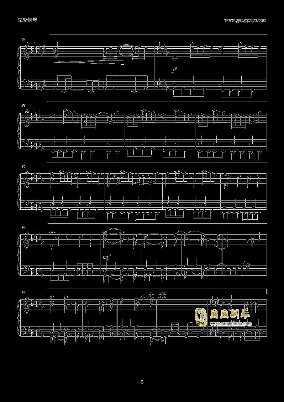 你的名字片尾曲钢琴谱 第5页