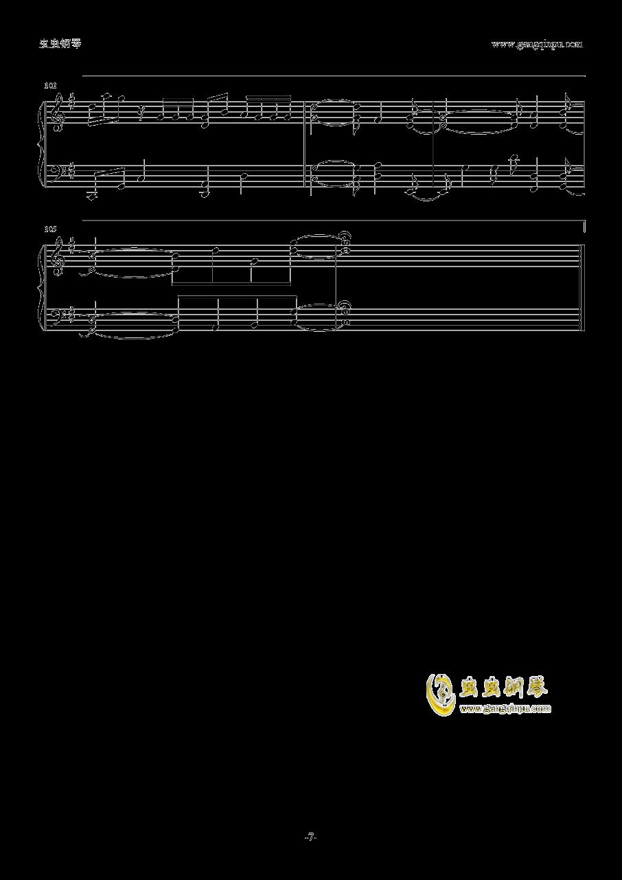 你的名字片尾曲钢琴谱 第7页