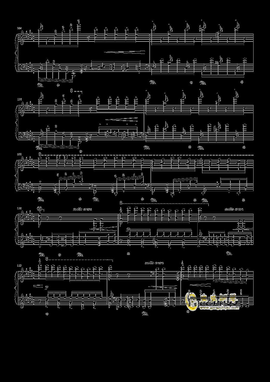 钟钢琴谱 第11页