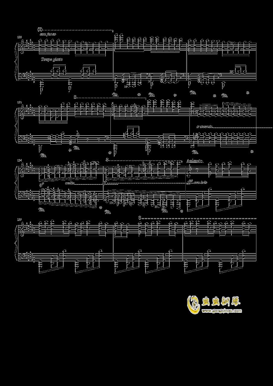 钟钢琴谱 第13页