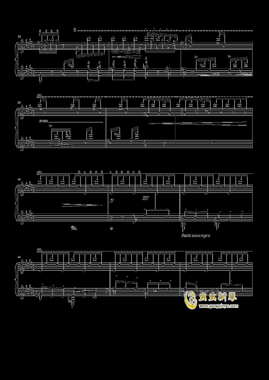 钟钢琴谱 第3页