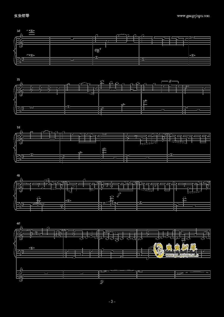 君の名は。-かたわれ�r钢琴谱 第2页