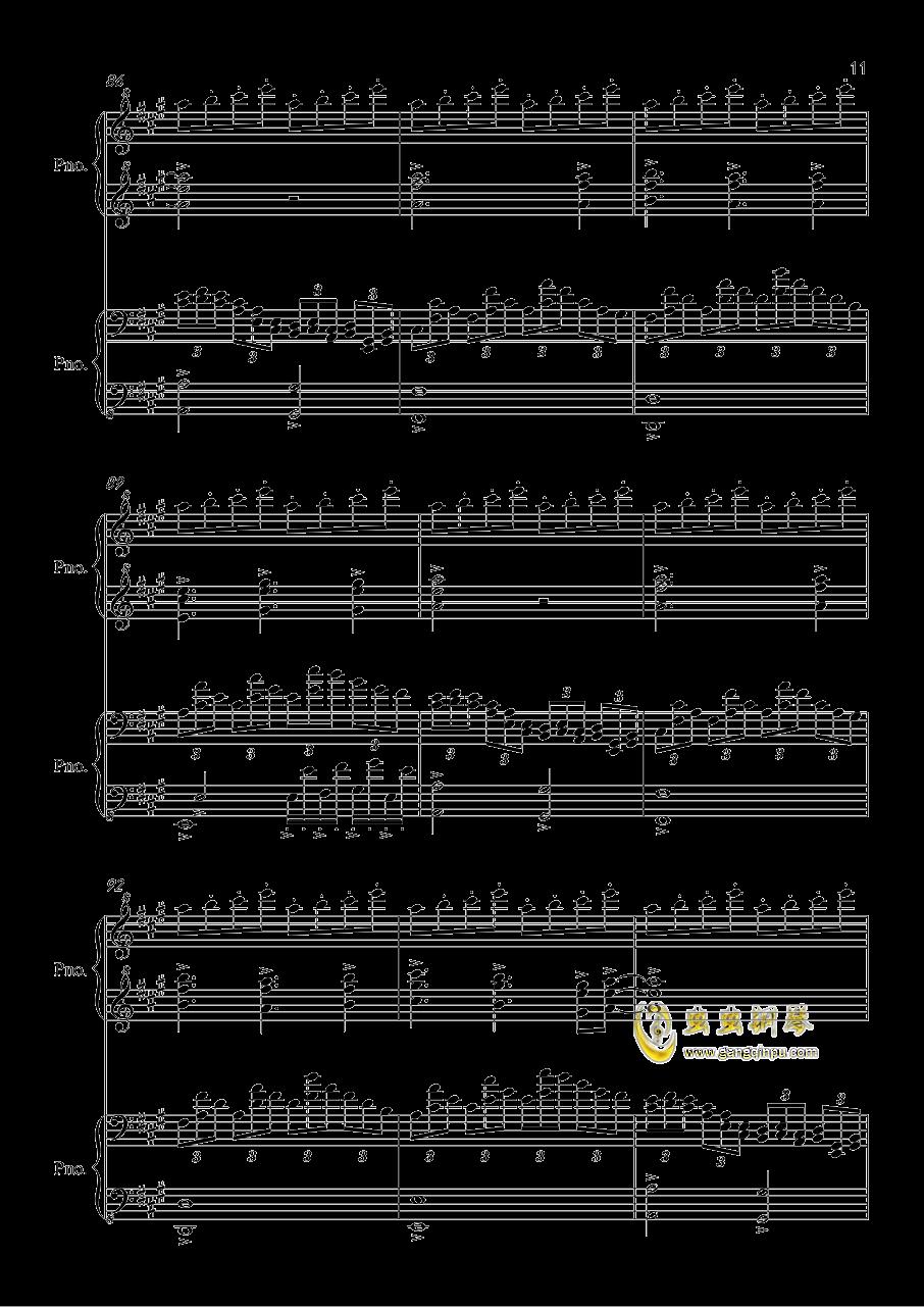 第三季片尾曲 Dearest for Piano Four Hands ,犬夜叉第三季片尾曲