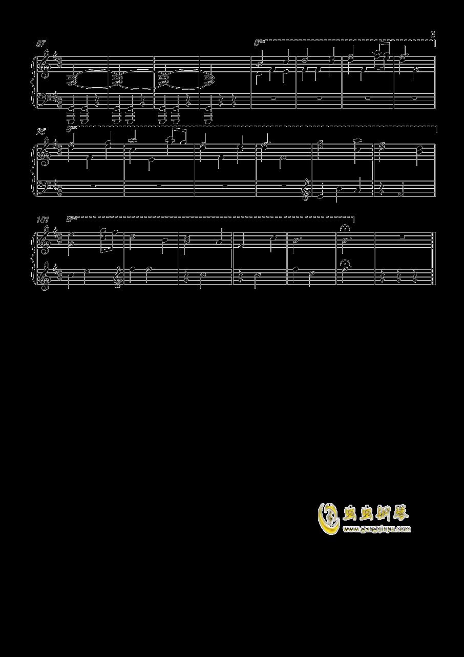 davy jones钢琴谱
