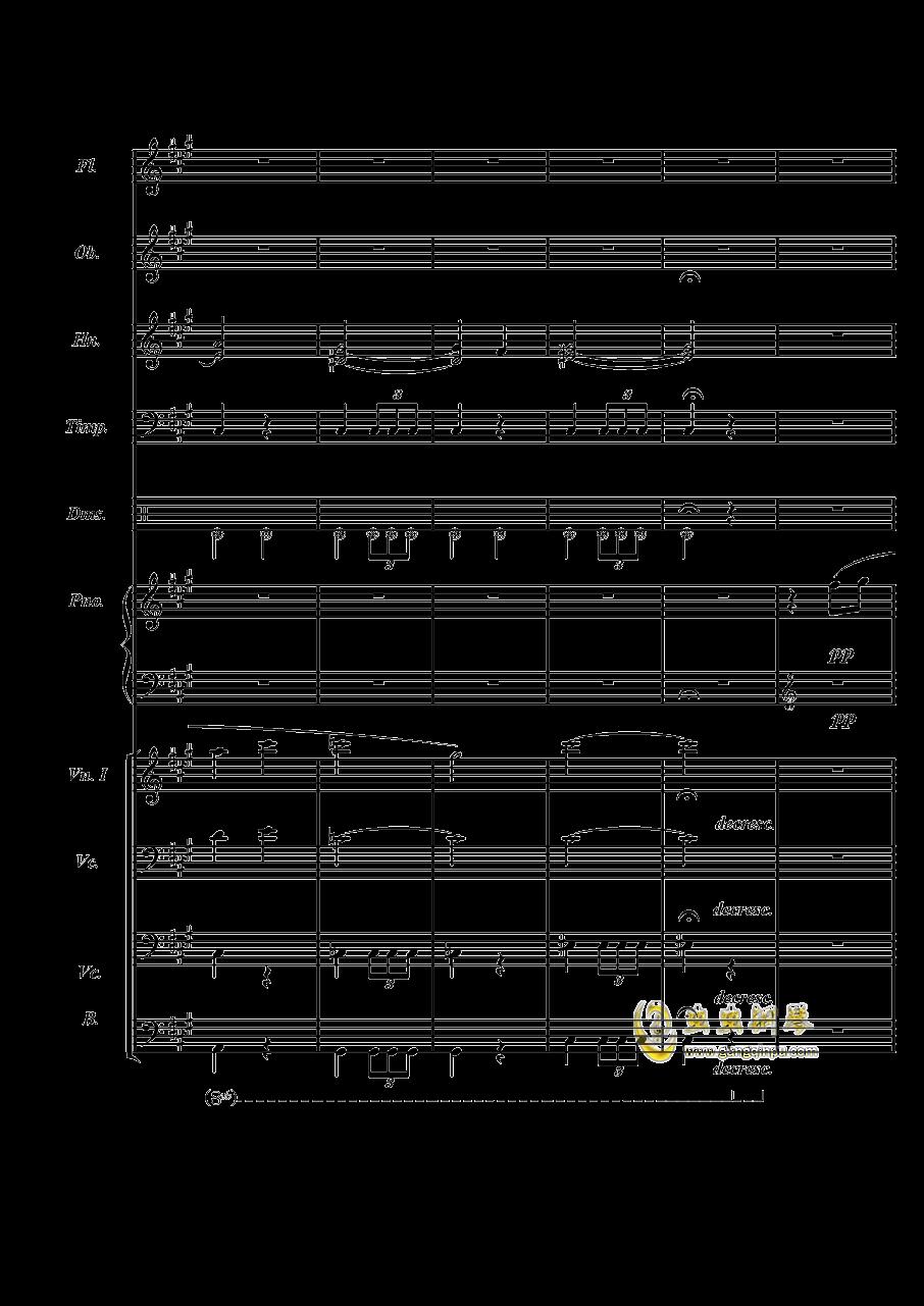 梦境飞逝钢琴谱 第19页