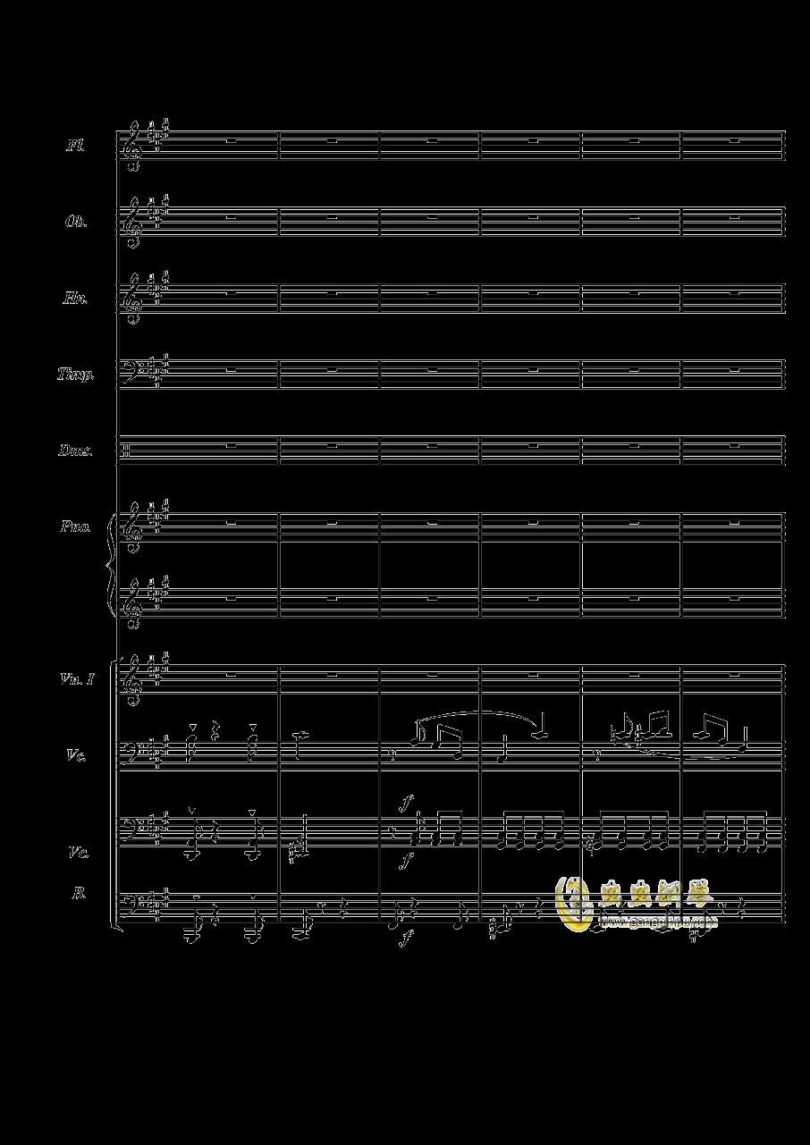 梦境飞逝钢琴谱 第2页