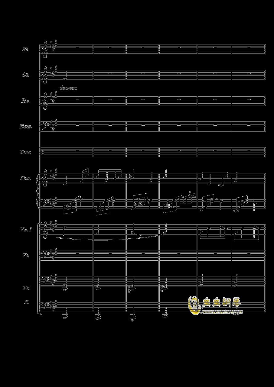 梦境飞逝钢琴谱 第22页