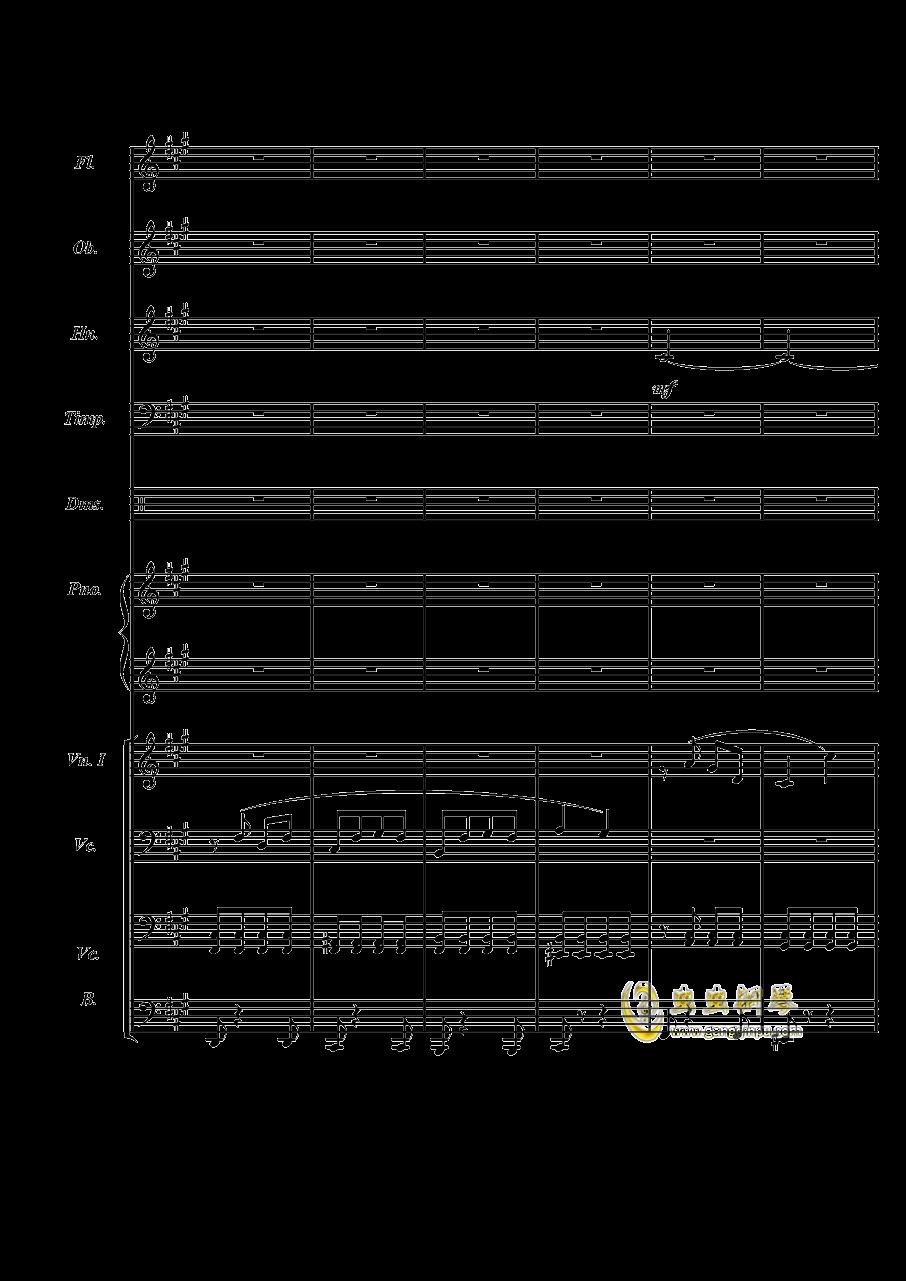 梦境飞逝钢琴谱 第3页