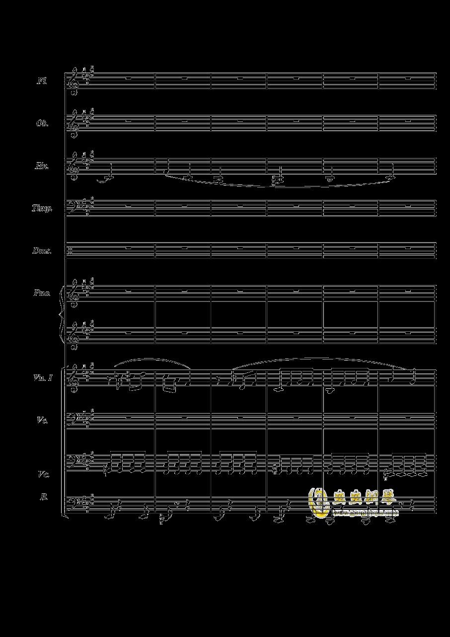 梦境飞逝钢琴谱 第4页