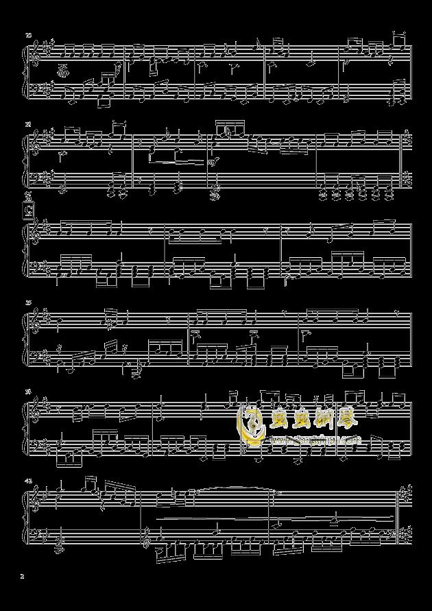 Shining Star Xmas钢琴谱 第2页