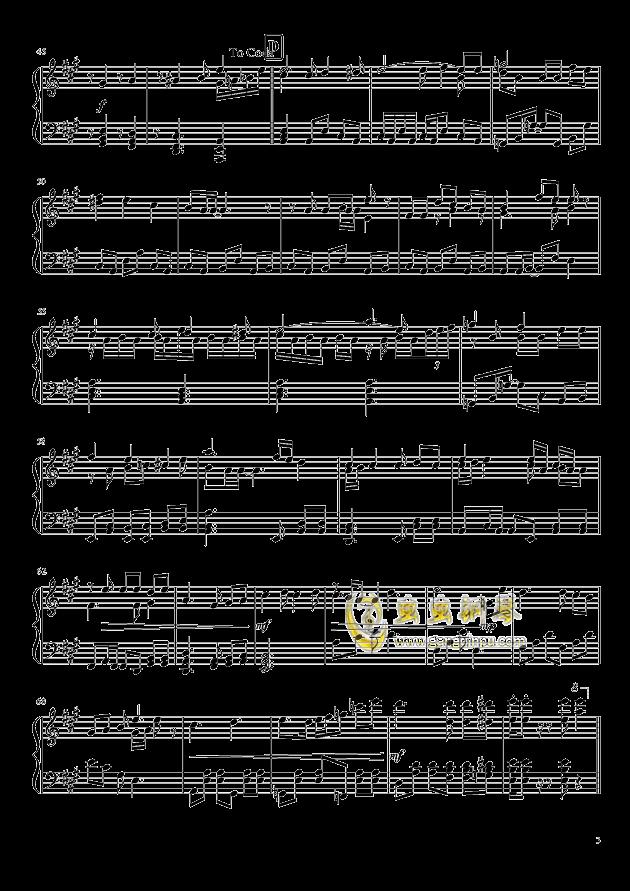 Shining Star Xmas钢琴谱 第3页