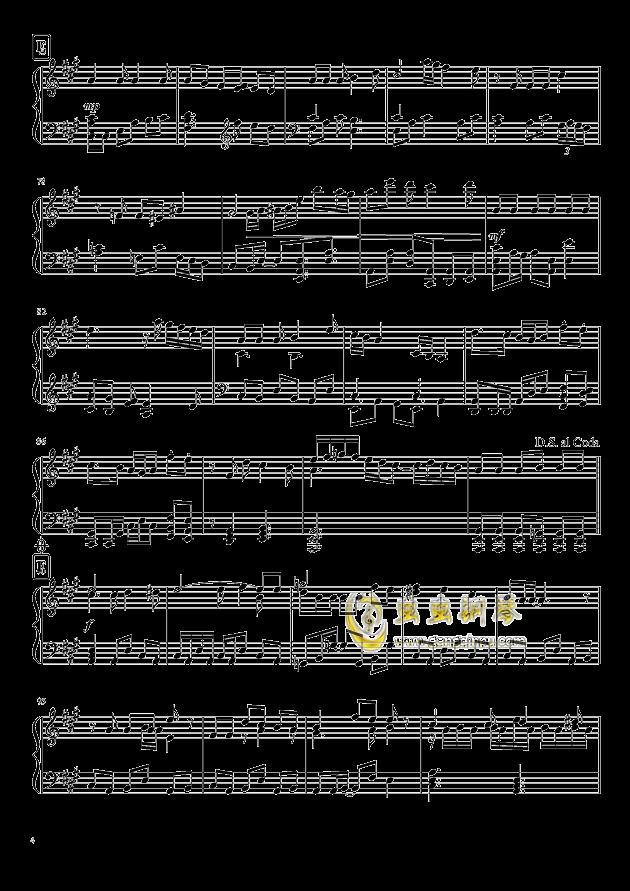 Shining Star Xmas钢琴谱 第4页