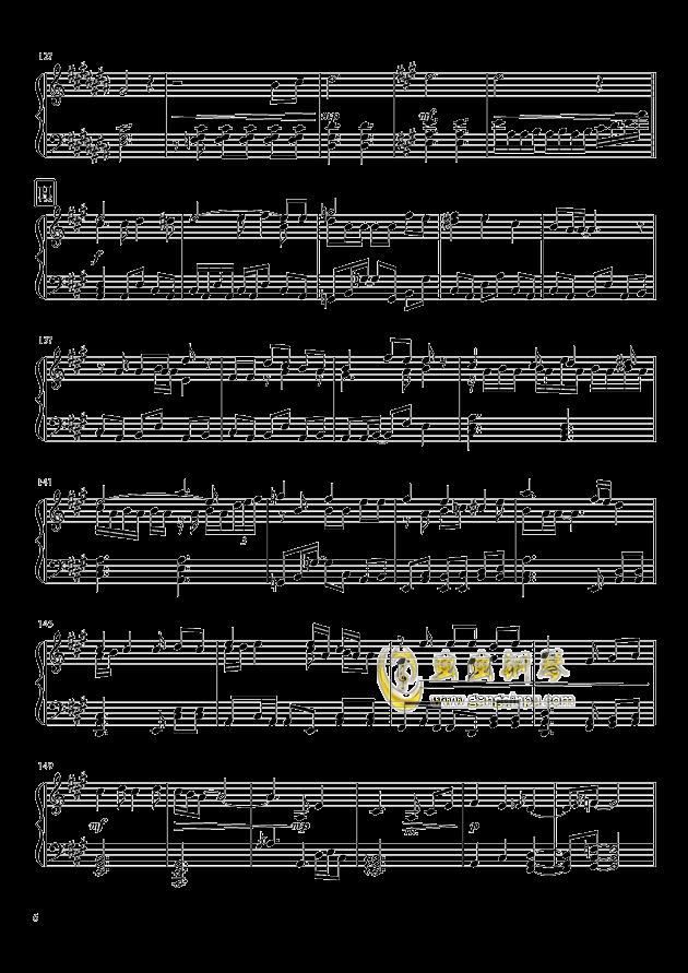 Shining Star Xmas钢琴谱 第6页