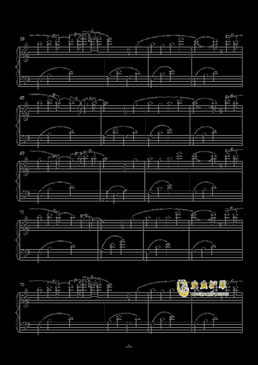 雨�D-ATCG-钢琴谱 第4页