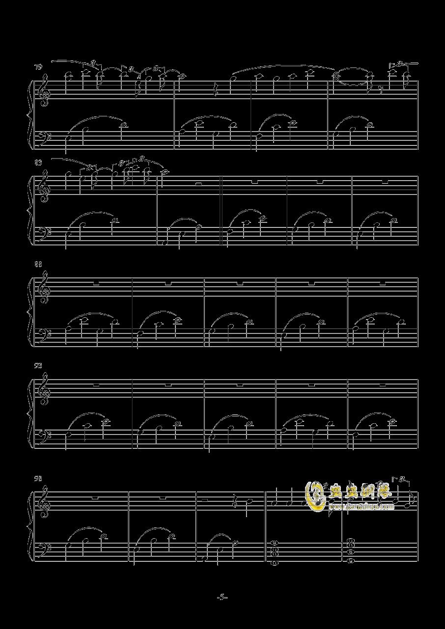 雨�D-ATCG-钢琴谱 第5页
