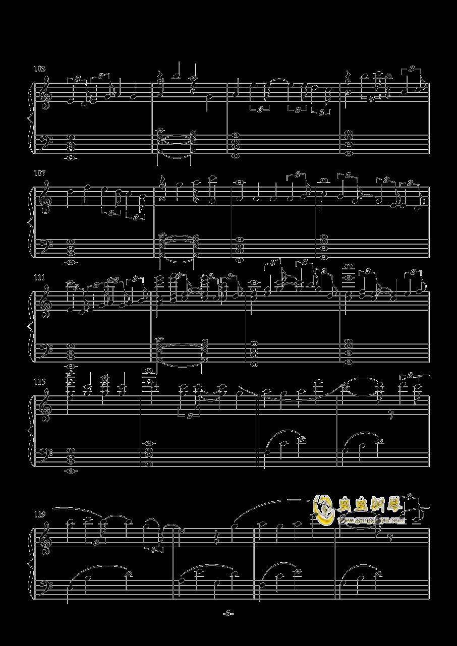 雨�D-ATCG-钢琴谱 第6页