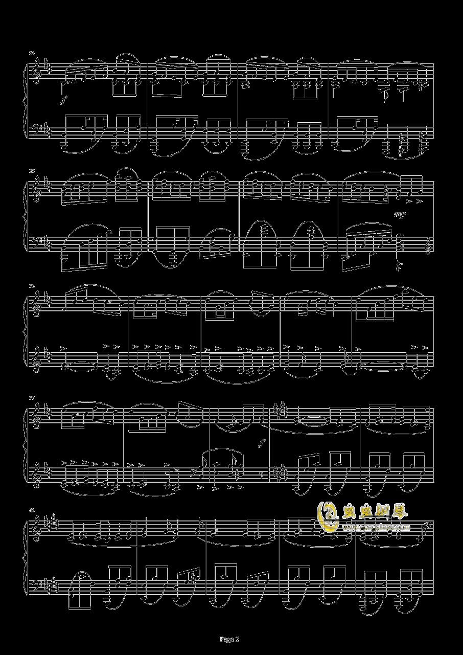 满天钢琴谱 第2页