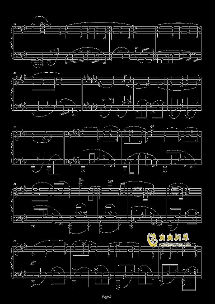 满天钢琴谱 第3页