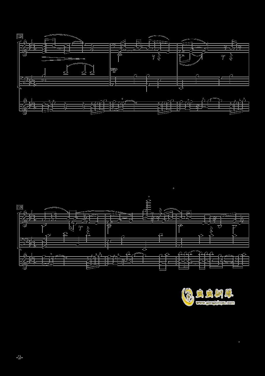 菊次郎@国王十字钢琴谱 第2页