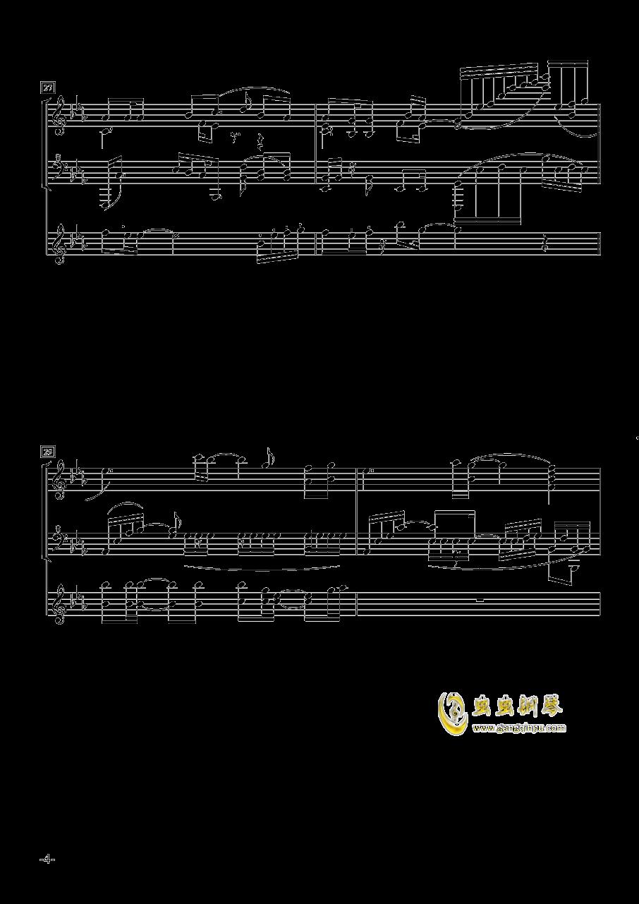 菊次郎@国王十字钢琴谱 第4页