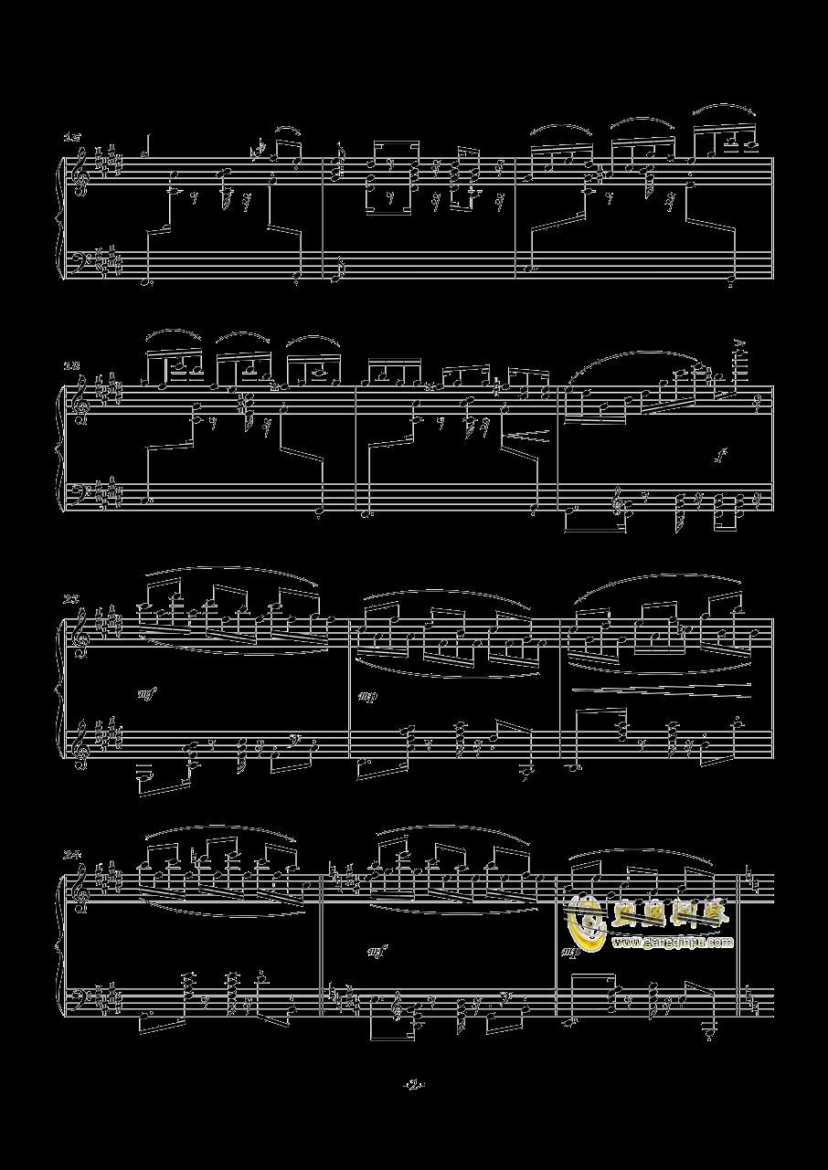 POUSSE-CAFE钢琴谱 第2页