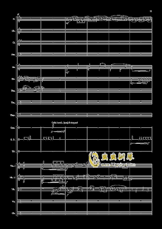 爱丁堡之冬钢琴谱 第11页