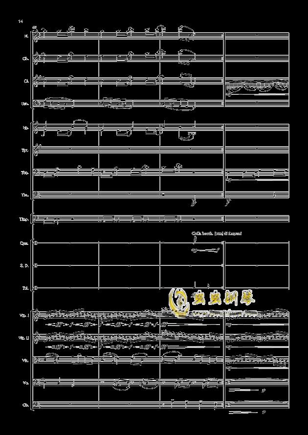 爱丁堡之冬钢琴谱 第14页