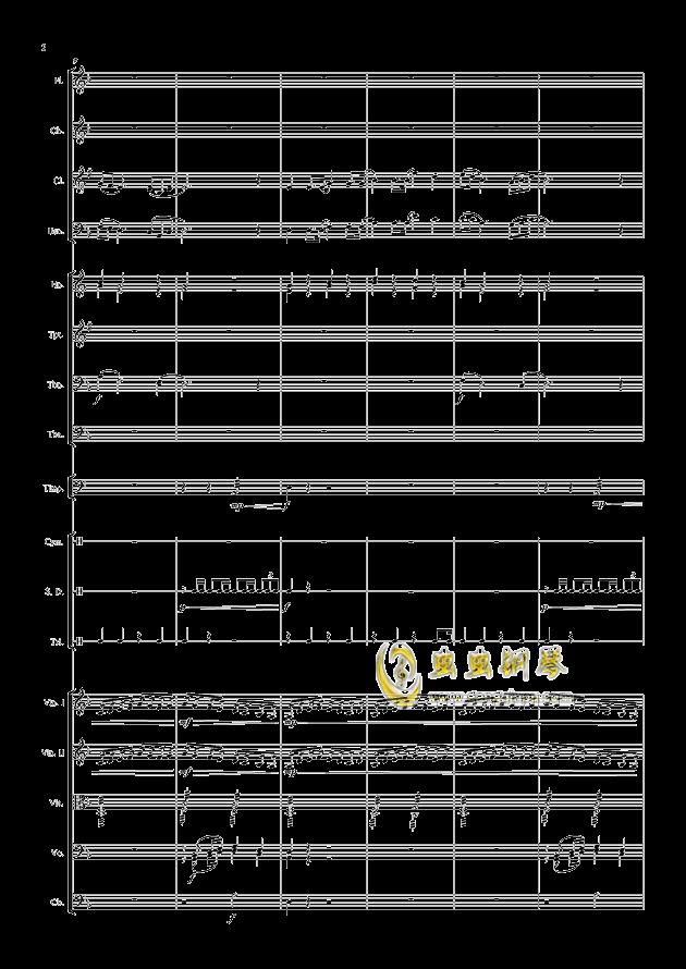 爱丁堡之冬钢琴谱 第2页