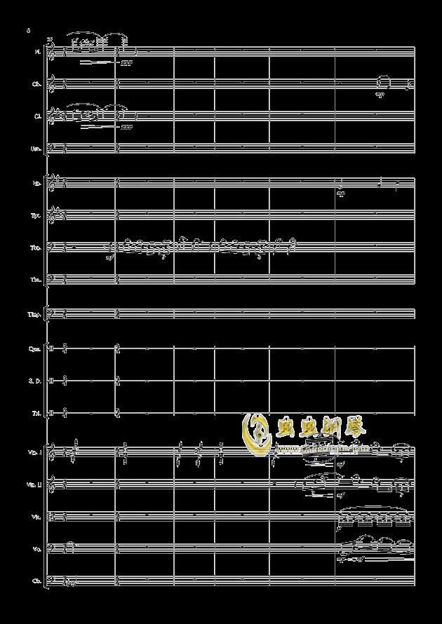 爱丁堡之冬钢琴谱 第6页