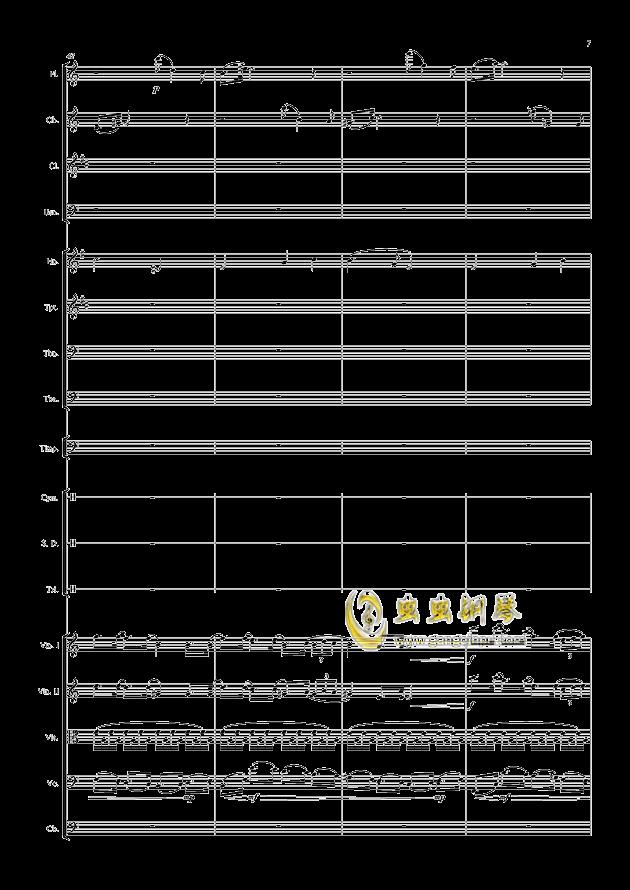 爱丁堡之冬钢琴谱 第7页