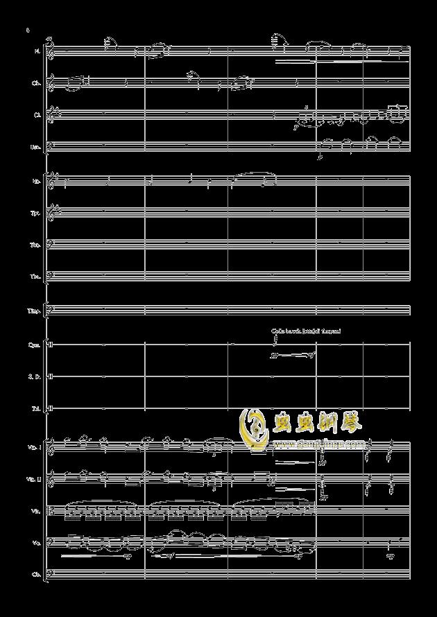 爱丁堡之冬钢琴谱 第8页