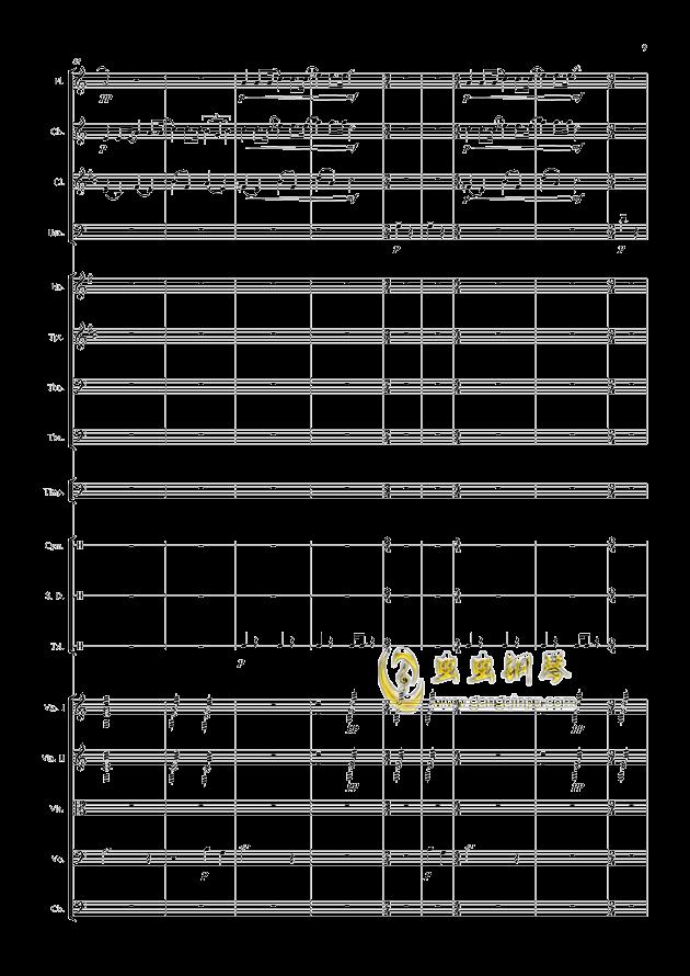 爱丁堡之冬钢琴谱 第9页