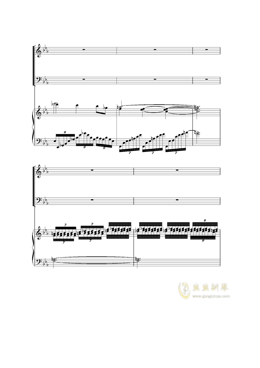Piano Concerto I钢琴谱 第43页