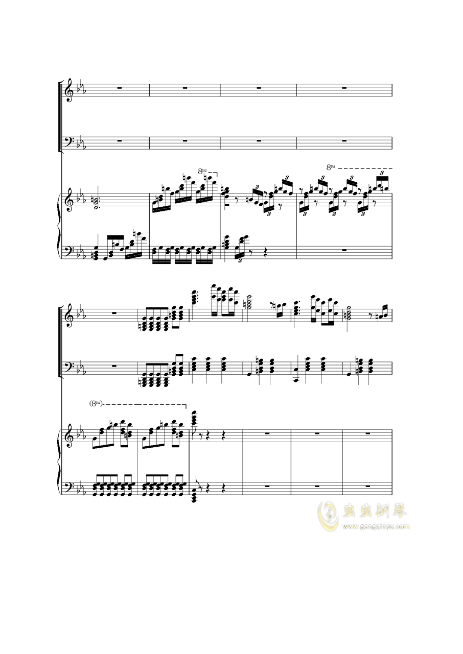 Piano Concerto I钢琴谱 第47页