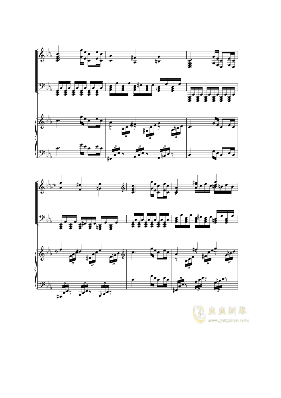 Piano Concerto I钢琴谱 第48页