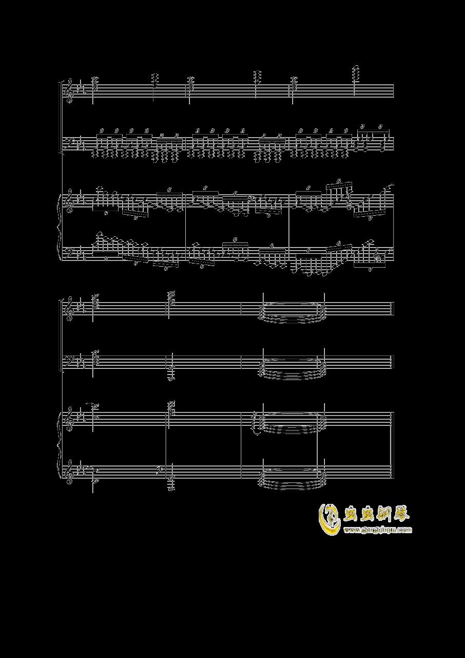 Piano Concerto I钢琴谱 第49页