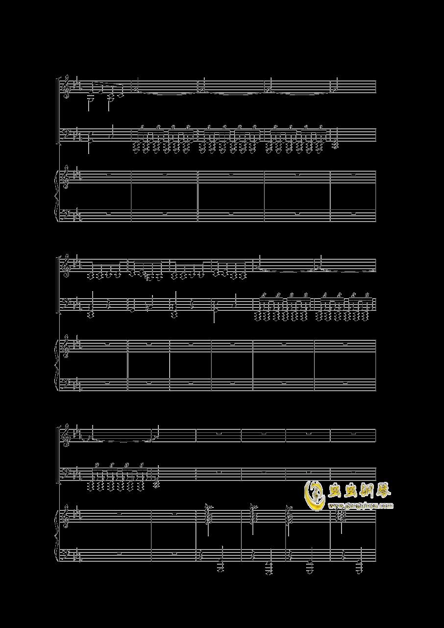 Piano Concerto I钢琴谱 第19页