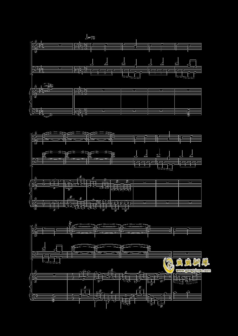 Piano Concerto I钢琴谱 第29页