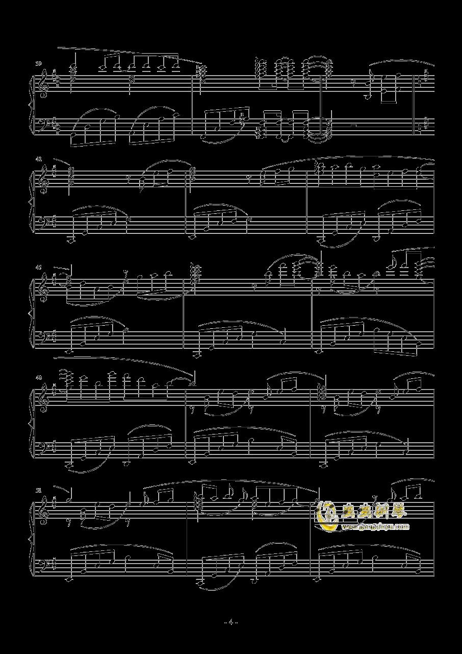 幽雅地绽放吧钢琴谱 第4页