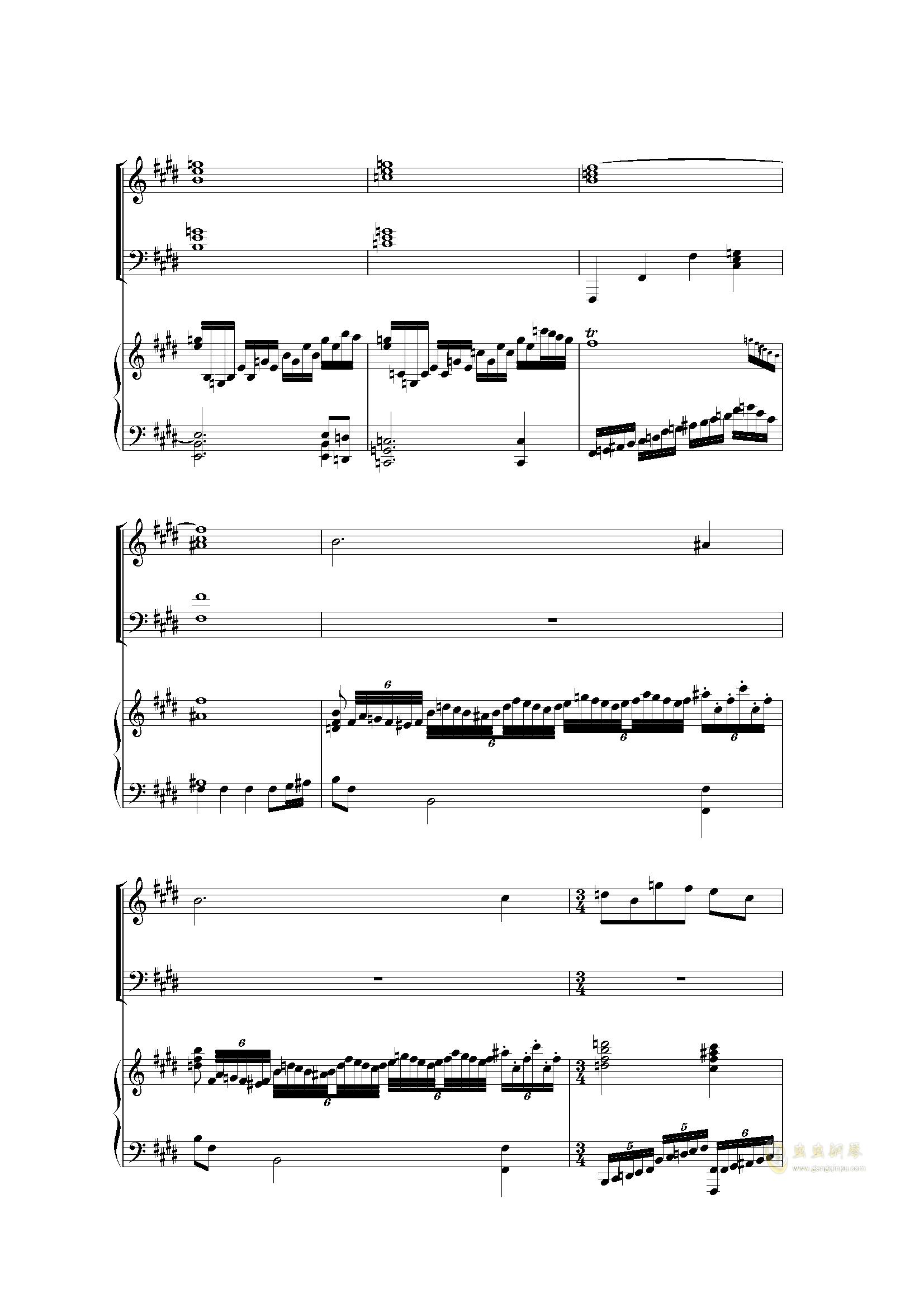 Piano Concerto I (2 mov)钢琴谱 第11页