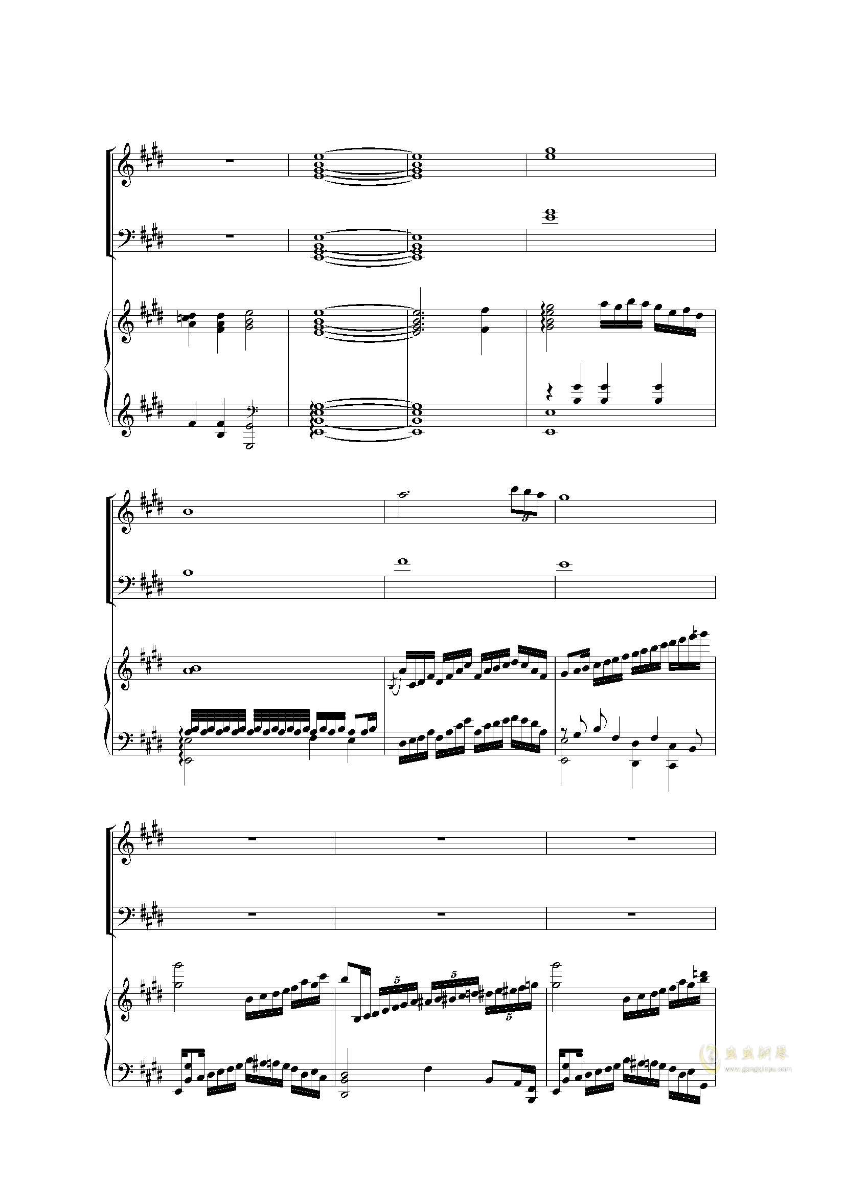 Piano Concerto I (2 mov)钢琴谱 第14页