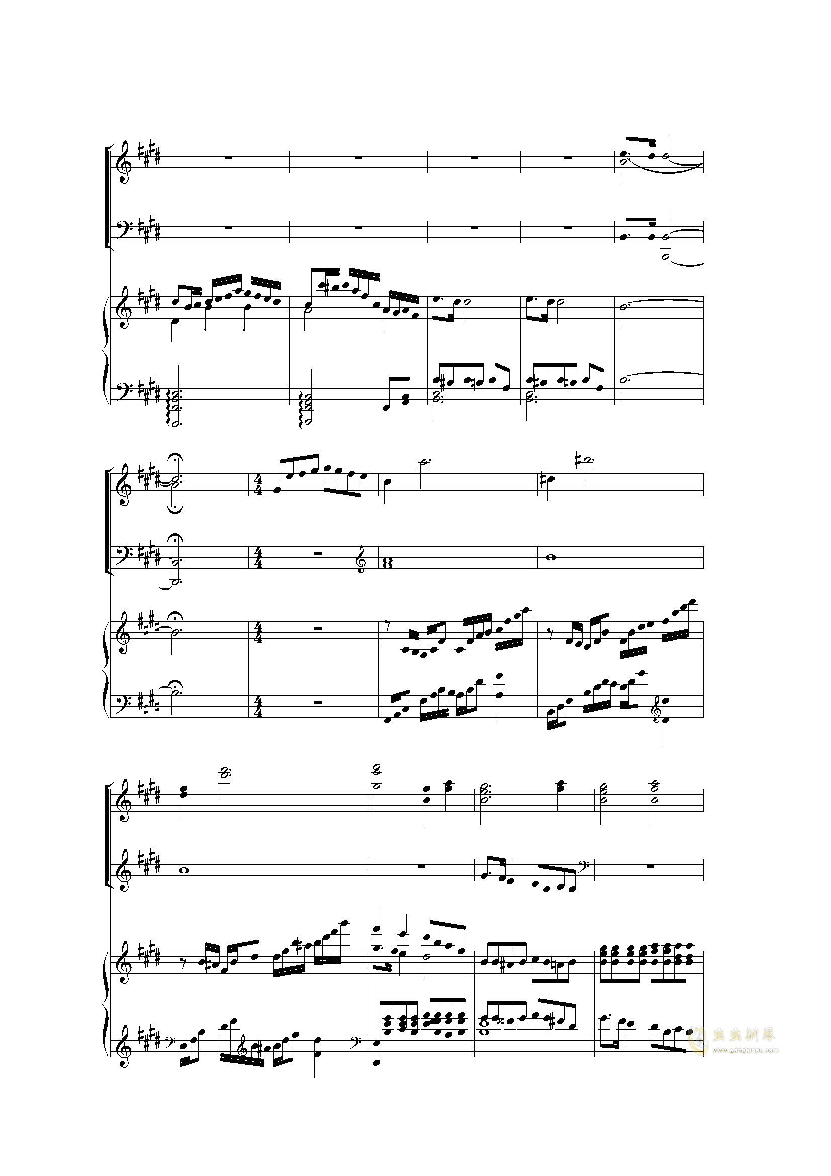 Piano Concerto I (2 mov)钢琴谱 第20页